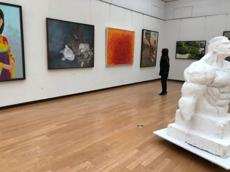 京都芸術高校卒業制作展展示風景201901156